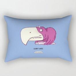 Grumpy Wings Rectangular Pillow