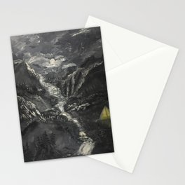 Lonely Mountains Stationery Cards