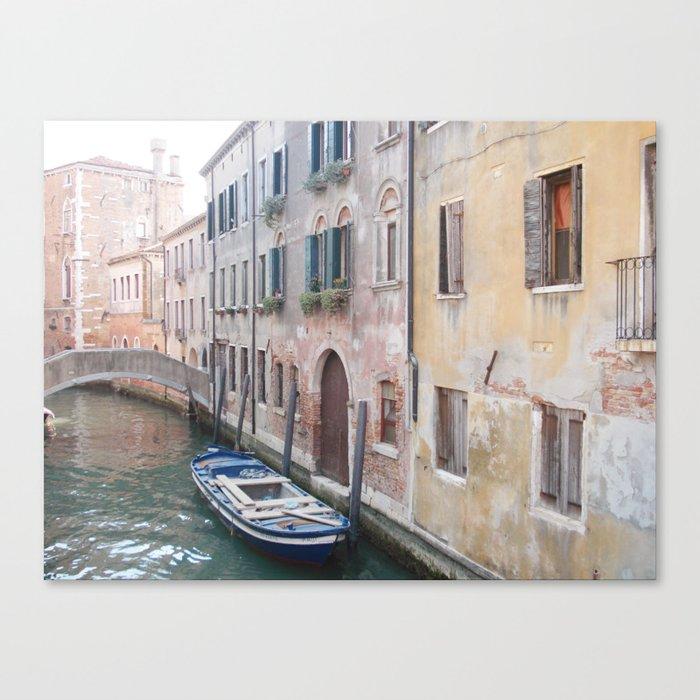 VENICE SCENE Canvas Print