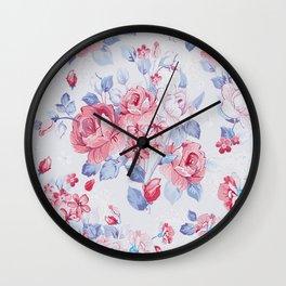 FLOWER PATTERN9 Wall Clock