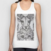 ram Tank Tops featuring Ram Illustration by TemporarilyYours