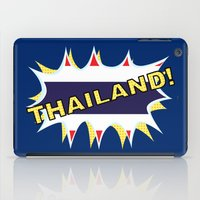 thailand iPad Cases featuring Thailand by mailboxdisco