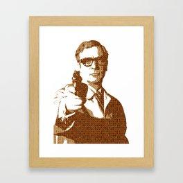 Scrabble Harry Palmer Framed Art Print