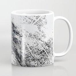 Eiffel tower painting  - Paris Map Coffee Mug