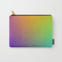 Pixel Color Gradient Carry-All Pouch