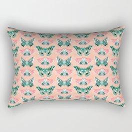 Lepidoptery No. 3 by Andrea Lauren  Rectangular Pillow