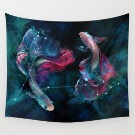 La constellation du Poisson Wall Tapestry