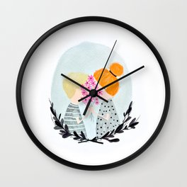 Two Sweethearts Wall Clock