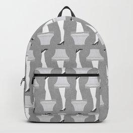 Leg Lamp Grey Backpack