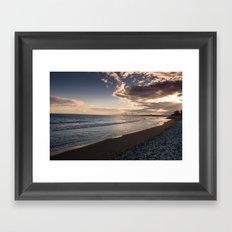 BEACH DAYS XXXIX Framed Art Print
