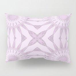 Lavender Pinwheel Flowers Pillow Sham