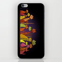 The Vector Cats iPhone Skin