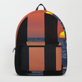 Sunset Through the Pier II Backpack
