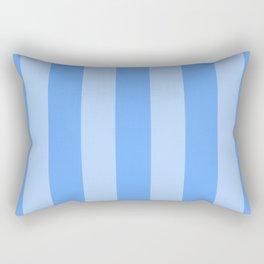 Sky Blue Stripes Rectangular Pillow