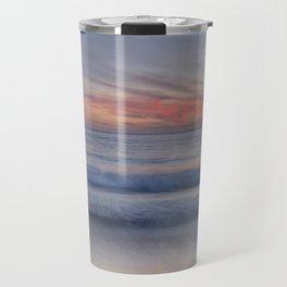 """""""Magical waves at sunset"""" Travel Mug"""