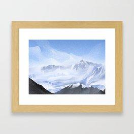 Annapurna Base Camp, 13,550 ft • Nepal Trekking Series Framed Art Print