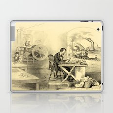 The Progress of the Century (Currier & Ives) Laptop & iPad Skin