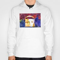 madonna Hoodies featuring Lady Madonna by Ecsentrik