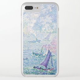 The Port of Rotterdam Clear iPhone Case