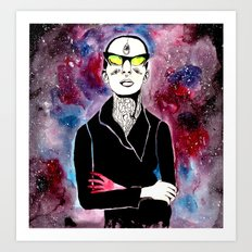 space bitch Art Print