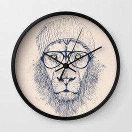 Cool lion Wall Clock