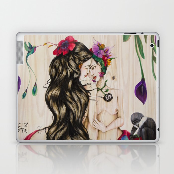 Frida Bilateral Laptop & iPad Skin