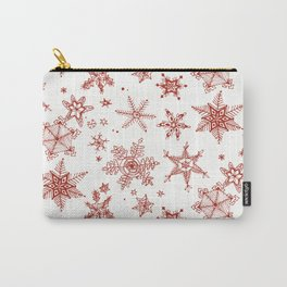 Snow Flakes 02 Carry-All Pouch