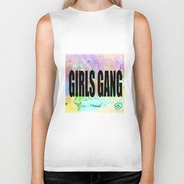 girls gang . Illustration Biker Tank
