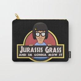 Jurassis Grass (Your ass is grass) Carry-All Pouch