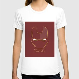 iron man face T-shirt