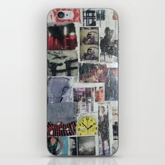 COLLAGE 13 iPhone & iPod Skin