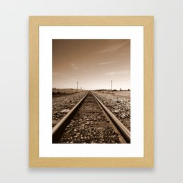 Wilderness Track Framed Art Print