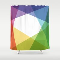 fig Shower Curtains featuring Fig. 004 by Maps of Imaginary Places