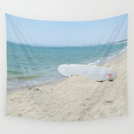 Edge of Long Beach Wall Tapestry