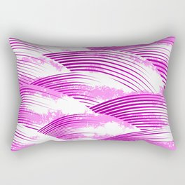Pink Clouds Rectangular Pillow