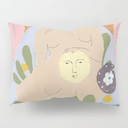 Taking care of the moon Pillow Sham