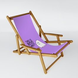 Grumpy Ghost Sling Chair