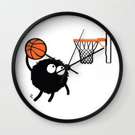 Basketball Player Wall Clock