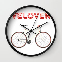 VeLover – Racer – June 12th – 200th Birthday of the Bicycle Wall Clock