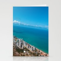 brazil Stationery Cards featuring Brazil Beach by Mauricio Santana