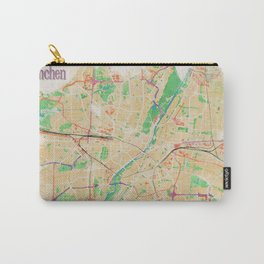 Munich in Watercolor Carry-All Pouch