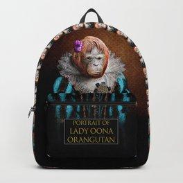Portrait of Lady Oona Orangutan Backpack