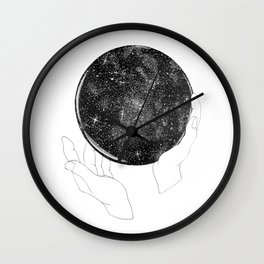 The Stargazer's Future is the Past Wall Clock