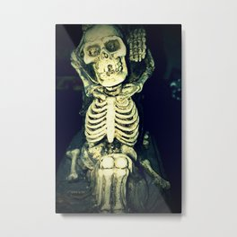 Mr. Bones Metal Print