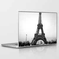 eiffel tower Laptop & iPad Skins featuring Eiffel Tower by Loaded Light Photography