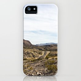 a long drive iPhone Case