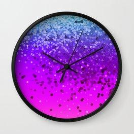 Unicorn Glitter Farts Wall Clock