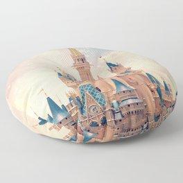 Cinderella's Castle Floor Pillow