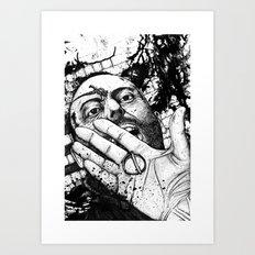 Leon.  Art Print