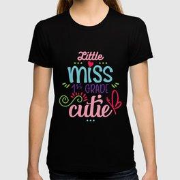 Little Miss 1st Grade Cutie T-shirt